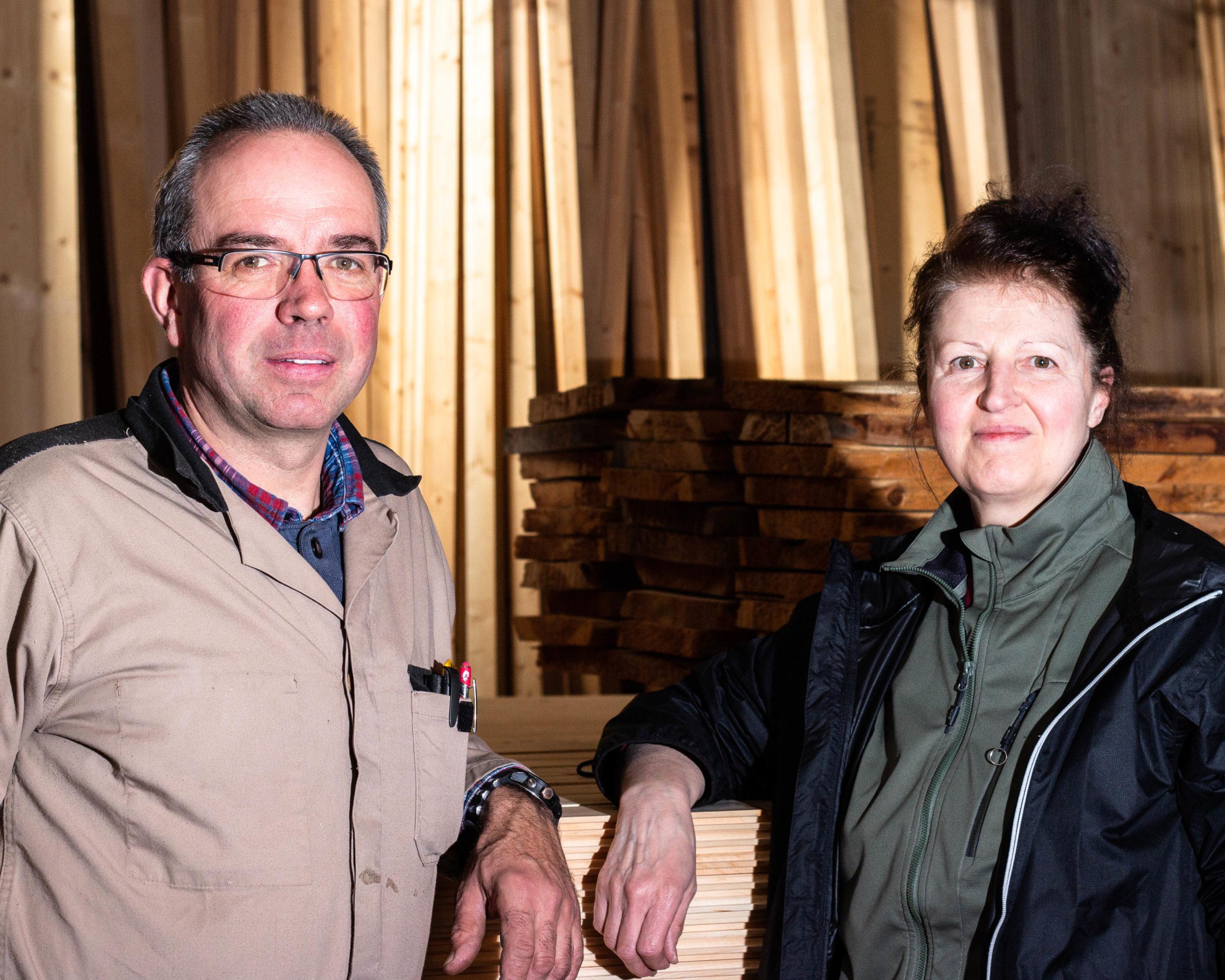 Mercato del legno