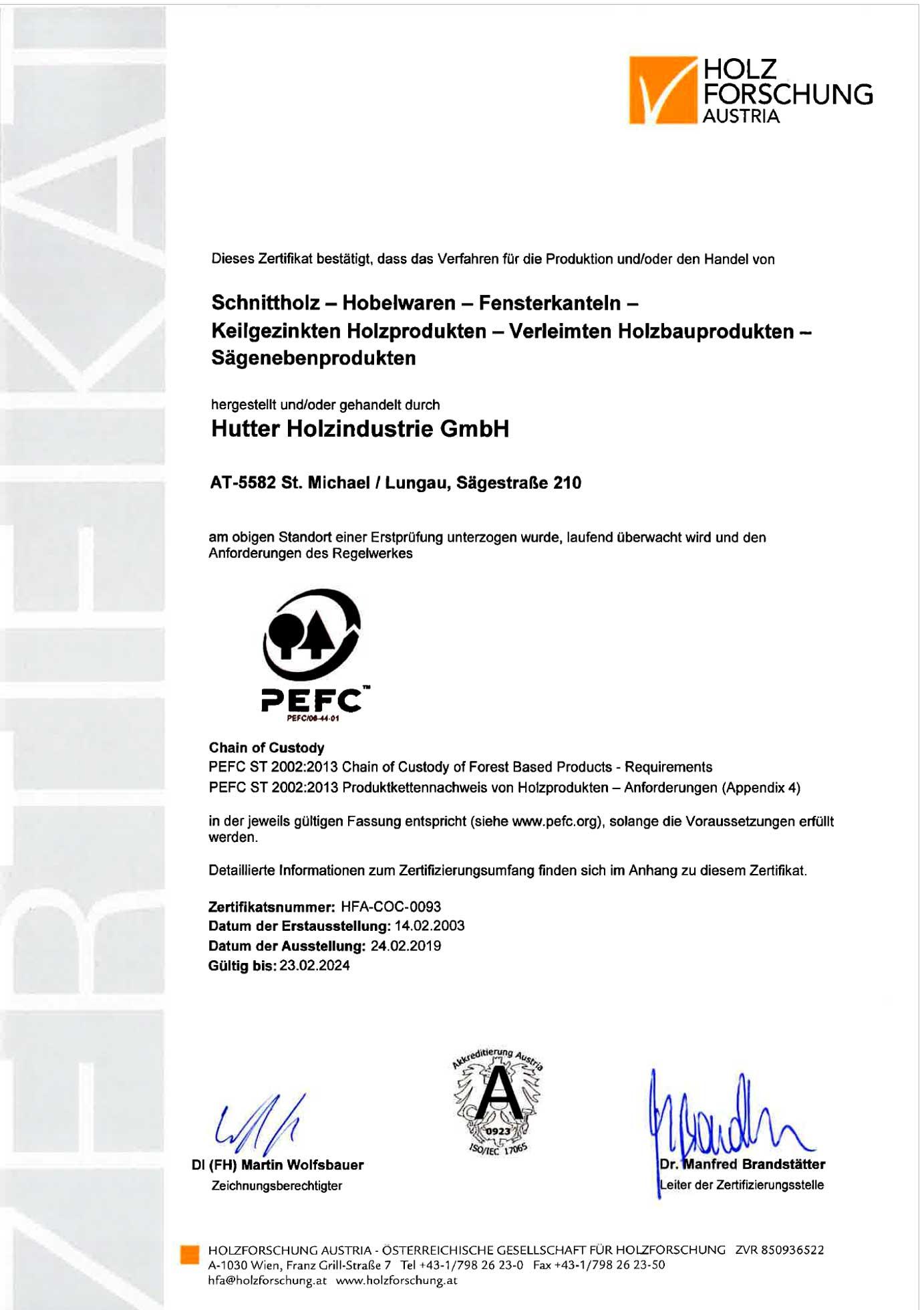 PEFC-Zertifikat_Holzindustrie