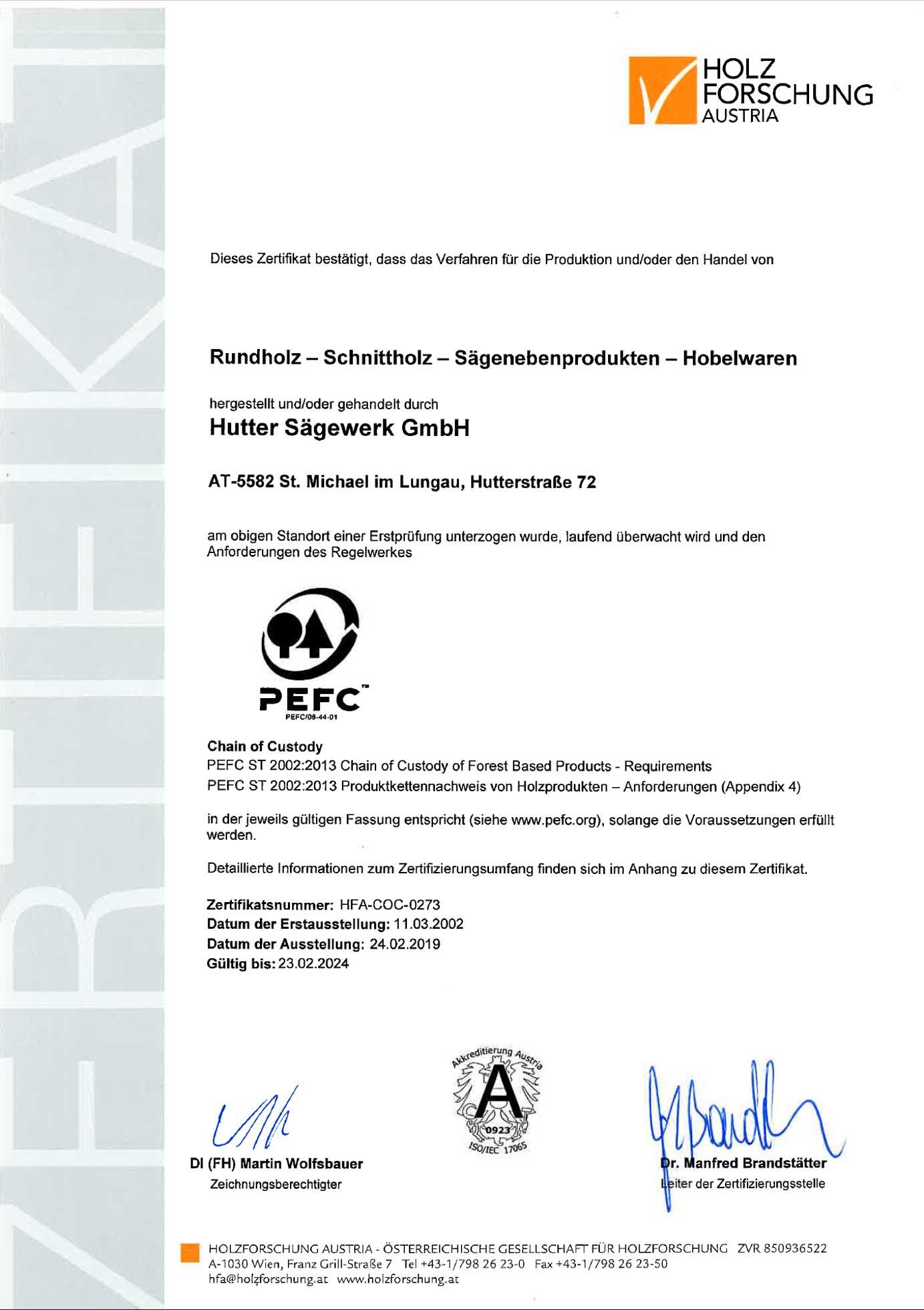 PEFC-Zertifikat_Saegewerk
